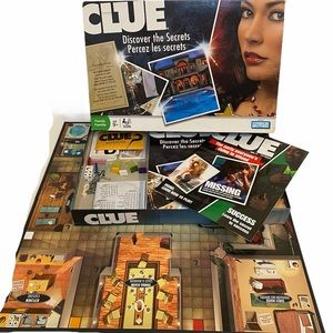 2008 Parkers Brothers Clue, Discover the Secrets.